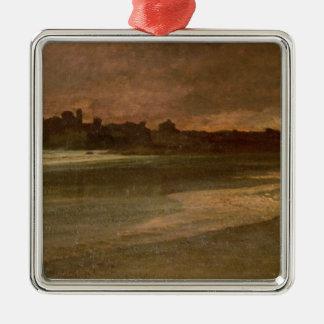 Nettuno, Evening on the Beach Metal Ornament