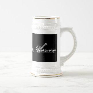 Netty Mac Beer Stein Mugs