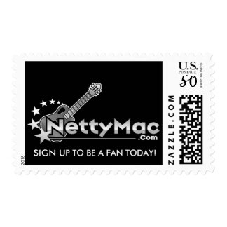 Netty Mac Postage Stamp