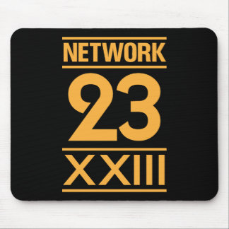 Network 23 mouse pad