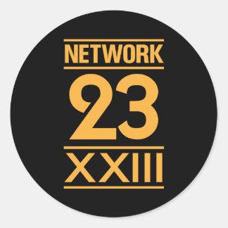 Network 23 etiquetas