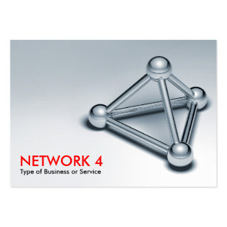 Network 4 large business cards (Pack of 100)