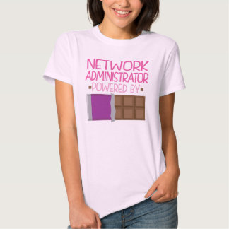Network Administrator Chocolate Gift for Her Tee Shirt