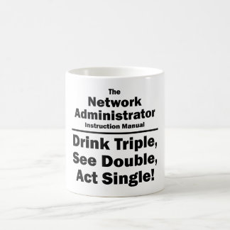 network administrator coffee mug