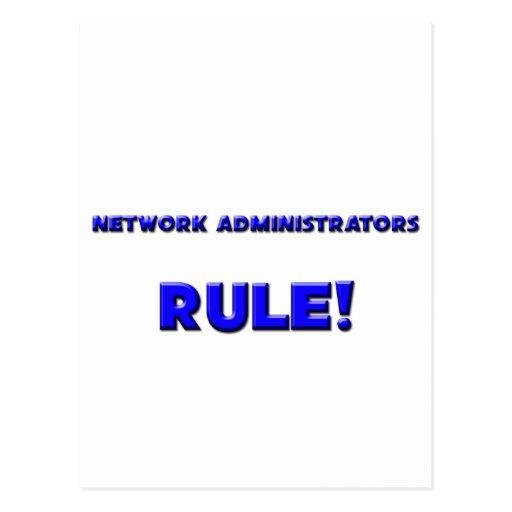 Network Administrators Rule! Postcard
