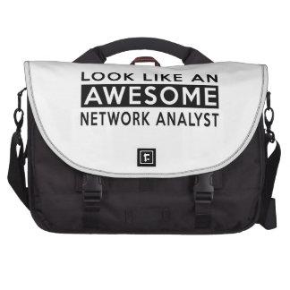 NETWORK ANALYST DESIGNS COMPUTER BAG