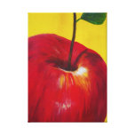 Network Apple Stretched Canvas Prints