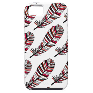 Network Aztec Feathers pattern iPhone SE/5/5s Case