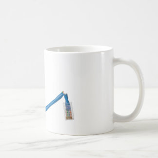 Network cable cut coffee mug