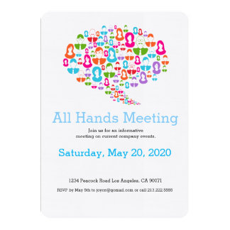 Network Communication Team Meeting Invitation