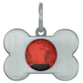 Network Double Texture Pet Name Tag