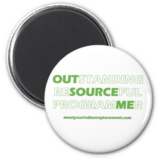 Network engineer? Technical support? 2 Inch Round Magnet