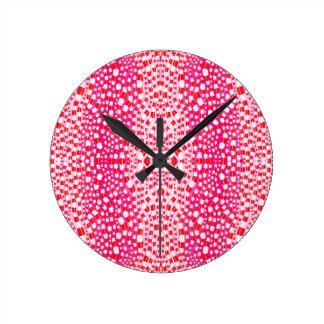 Network Forest Round Clock