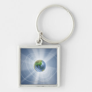 Network Lights Keychain