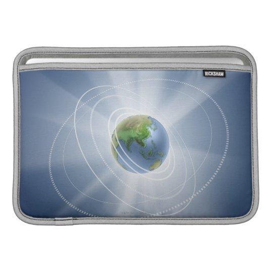 Network Lights MacBook Sleeve