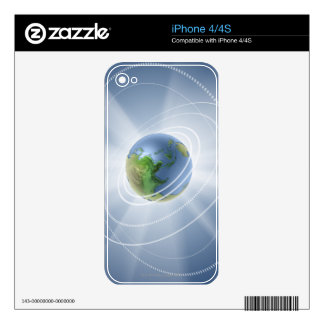Network Lights Skins For iPhone 4S