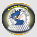 Network Marketing Products Classic Round Sticker