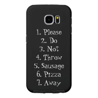 Network Model Black and Gray Samsung Galaxy S6 Case