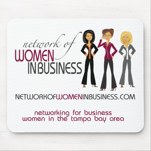 Network of Women in Business Mousepad