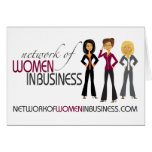 Network of Women in Business Note Card