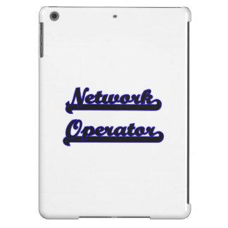 Network Operator Classic Job Design Case For iPad Air