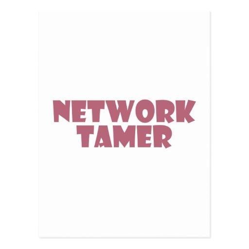 network tamer tarjetas postales