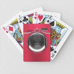 Network Washing Machine Playing Cards