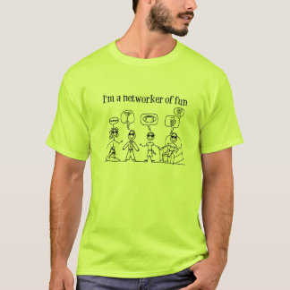 Networker of Fun Male T-Shirt