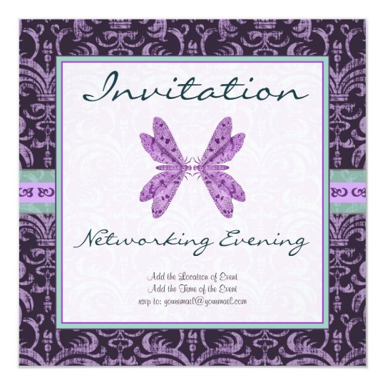 Networking, Matchmaking, Communications Event Card