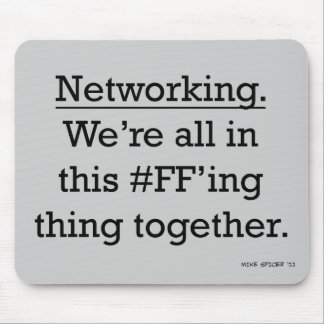 Networking Mouse Pad