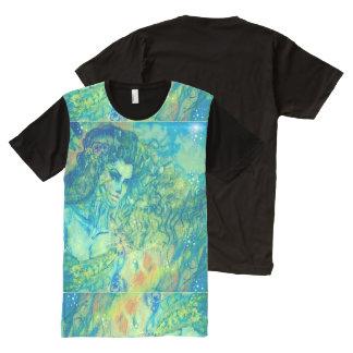 Neu erican Apparel All-Over Printed Panel T-Shirt