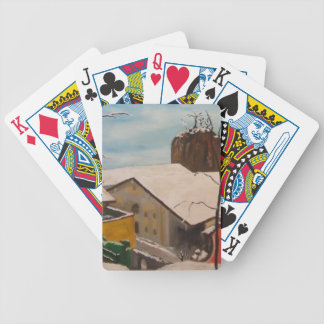 Neubeuern im Winter Bicycle Playing Cards