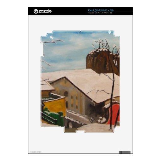 Neubeuern im Winter Decals For iPad 2