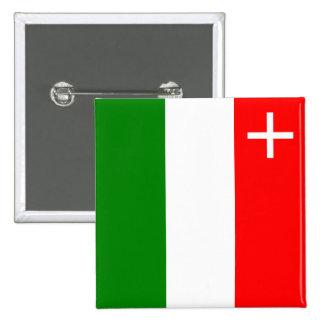 Neuchatel province Switzerland swiss flag region Buttons