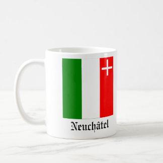 Neuchâtel, Svizra Drapeau Flags Coffee Mug