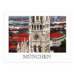 Neues Rathaus, Munich Postcard