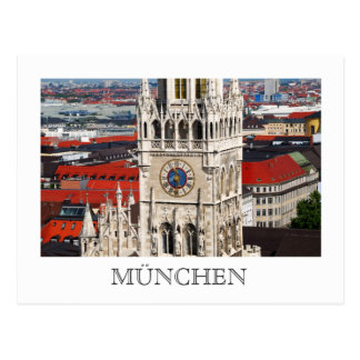 Neues Rathaus, postal de Munich