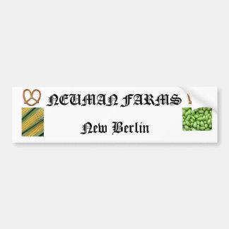 neuman farns bumper sticker