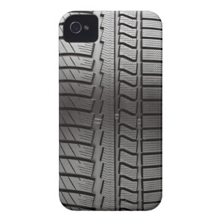 neumático de coche iPhone 4 carcasas