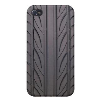 Neumático de goma iPhone 4 fundas