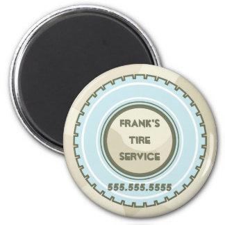 Neumático de repuesto y camuflaje imán redondo 5 cm