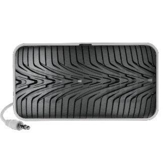 Neumático del coche portátil altavoces