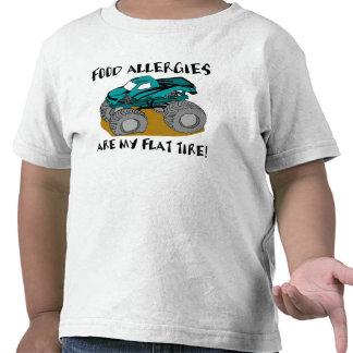 Neumático desinflado camisetas