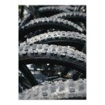 Neumáticos de la bici de montaña comunicados