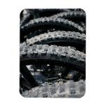 Neumáticos de la bici de montaña imán de vinilo
