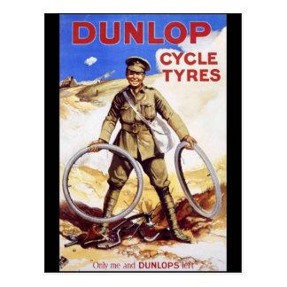 Neumáticos del ciclo de Dunlop Postales