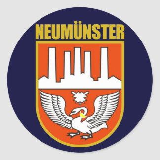 Neumunster Classic Round Sticker