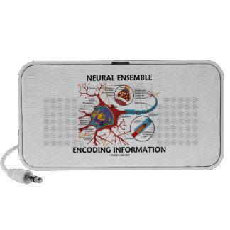 Neural Ensemble Encoding Information Neuron iPhone Speaker