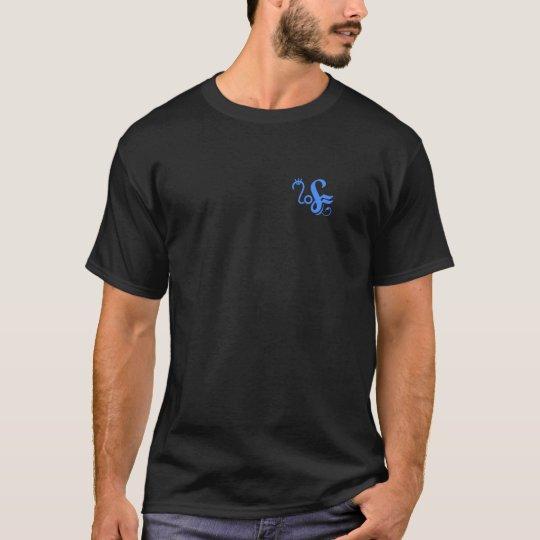 Neural Glyph (sky) T-Shirt