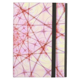 Neural Network Spiral iPad Case with Kickstand